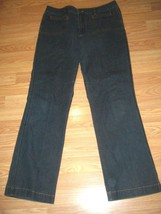 CHIC0'S STRETCH DK DENIM BOOTCUT JEANS SIZE 2 - $17.41