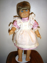 VINTAGE RETIRED AMERICAN GIRL KIRSTEN DOLL WITH DRESS & APRON - $145.12