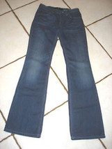 EARL COTTON DENIM BOOTCUT JEANS WAIST 25 - $16.44