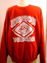 JERZEES KENTON WILDCATS RED SWEATSHIRT SIZE L - $14.50