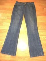 Tommy Hilfiger Stretch Dk Denim Bootcut J EAN S Size 4R - $17.41