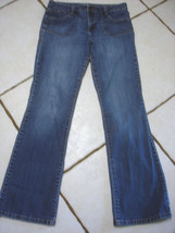 TOMMY HILFIGER STRETCH DENIM BOOTCUT JEANS SIZE 8 - $17.41