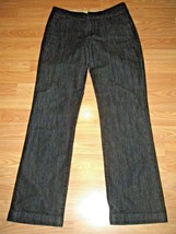 CHIC0'S PLATINUM STRETCH DENIM STRAIGHT LEG  TROUSER JEANS SIZE CHICO'S 0 - $19.34
