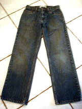 LEVI'S SIGNATURE MENS COTTON STRAIGHT LEG JEANS SIZE 29/30 - $17.41