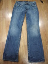 SILVER NASH MENS COTTON DENIM BOOTCUT BUTTON FLY JEANS SIZE 30/33 - $38.69