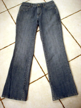 CHIC0'S STRETCH DENIM BOOTCUT JEANS SIZE CHICO'S 0 - $17.41