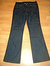 NINE WEST STRETCH DK DENIM BOOTCUT JEANS SIZE 6 - $17.41