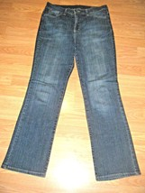NINE WEST STRETCH DENIM BOOTCUT JEANS SIZE 10 - $17.41