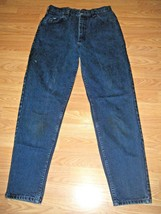 LEE COTTON DK DENIM JEANS SIZE 29 waist - $16.44