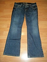 AMERICAN EAGLE AE AETIST STRETCH DK DENIM FLARE JEANS SIZE 8s - $17.41