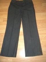 BANDOLINO DK BROWN STRETCH BOOTCUT PANTS SIZE 4 - $17.41