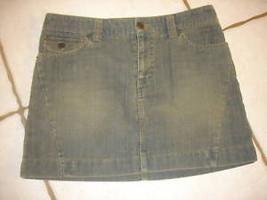 American Eagle Olive Green Corduroy J EAN Skirt Sz 0 - $14.50