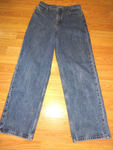 Faded Glory Relaxed Kids Straight Leg Cotton Denim J EAN S Size 16 26/28 - $15.47
