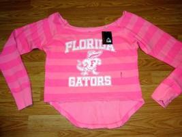Nwt Three Squares Cotton Coral Florida Gators Distresed Sweatshirt Size Xl - $18.37