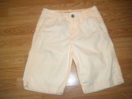AMERICAN EAGLE PALE PINK/PEACH COTTON LONG SHORTS SIZE 26 - $16.44