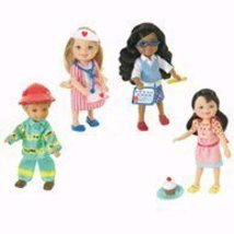BARBIE I CAN BE...Kelly & Shelly Dolls Set - Professions Bunch  - $50.00