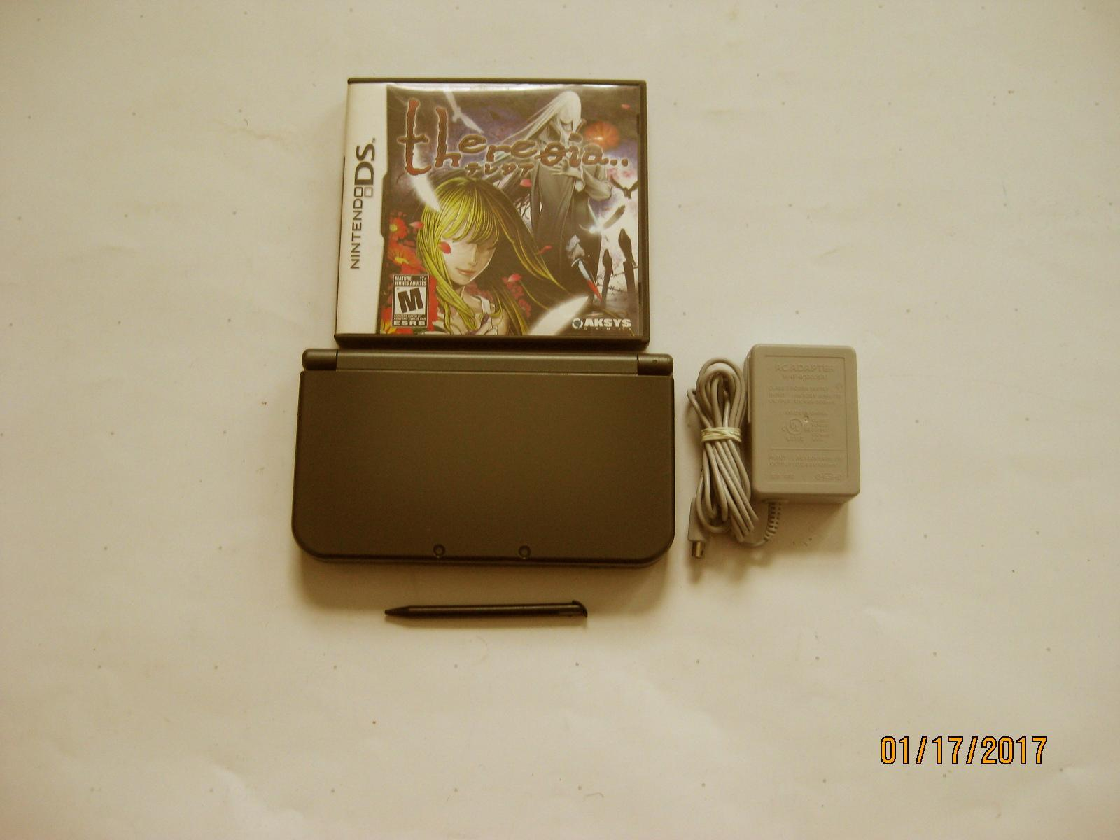 Primary image for Nintendo New 3DS XL Black  w Theresia  & More !!