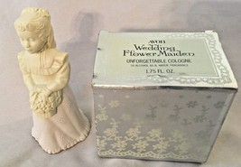 "White AVON 5"" Wedding Flower Maiden Girl 1.75 O... - $9.41"
