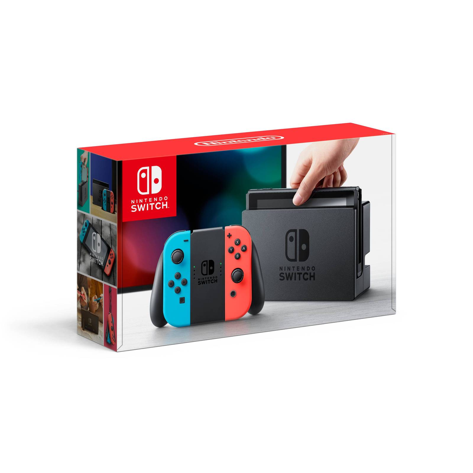 Nintendo Switch Console System NEON Blue / Red Version + Joy-Con Region Free USA