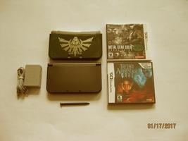 Nintendo New 3DS XL Black 9.9 Firmware with Metal Gear  & More !! - $269.99
