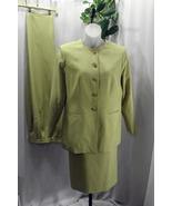 Sag Harbor Mustard Three Piece Polyester Skirt ... - $49.99