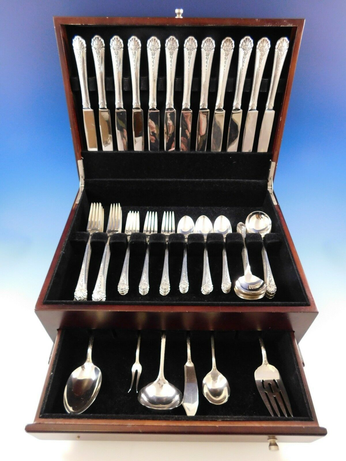 Primary image for Royal Windsor by Towle Sterling Silver Flatware Service 12 Dinner Set 66 Pieces