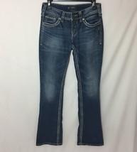Silver Suki Boot Jeans Women's Size 26 X 34 - $23.12