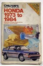 Honda 1973 to 1984 Repair & Tune-up Guide Chilton - $3.99