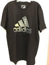 New Men Adidas Logo The Go To Tee 3720A Crew Neck Top T-shirt Short Slee... - $16.82