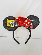 Disney Minnie Mouse Graduation Light Up Headband Sparkly-New - $15.79