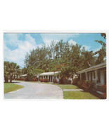 Grove Park Court Motel Vero Beach Florida postcard - $6.44