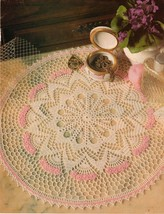 7X Advanced Souvenir Charade Four O'Clock Doily Planet Table Top Crochet... - $9.99