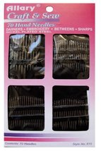 70 Piece Hand Needles. Darners, Embroidery, Betweens and Sharps. Variety of Size - $4.94