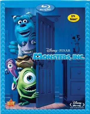 Disney/Pixar Monsters, Inc. (Blu-ray + DVD)