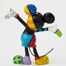 "3.25"" Disney Britto Mickey Mouse Mini 3 Dimensional Figurine Stone Resin image 2"