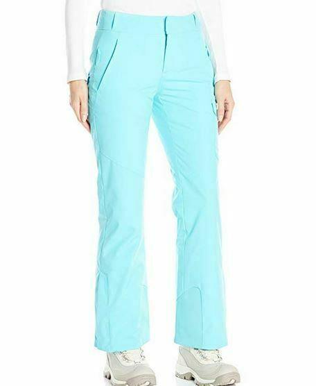 Spyder Womens Me Tailored Fit Pants,Ski Snowboarding, Size 14, Inseam Short (30)