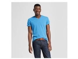Goodfellow Blue V Neck Standard  Mens  T-Shirt  Size XL  NWT  - $7.99