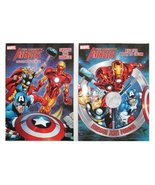 "Marvel Mighty Avengers (2 Pack) 96 pg Coloring & Activity Book ""Heroes Join Forc - $6.18"