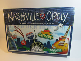 NashvilleOpoly Monopoly Type Board Game by Late for the Sky Complete! NEW - $53.46