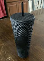 Starbucks Black Matte Studded Tumbler NWT  - $49.50