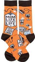 Primitives by Kathy - Mom Life is the Best Life Socks - $9.75
