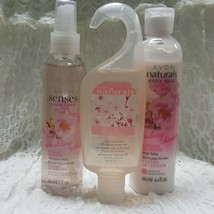 AVON Set of 3 CHERRY BLOSSOM - Body Wash - SPARKLING Perfume Spray - Lot... - $18.39