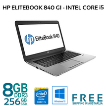 HP EliteBook 820 G1 Core i5-4300U 1.9GHz 12.5in 8GB 256Gb SSD WIFI WIN10... - $274.16
