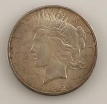1922-S Silver Peace Dollar (Choice BU Condition) Nice Eye Appeal! - $64.35