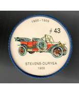 1908 STEVENS-DURYEA Jell-O Picture Wheel #43 - $5.00