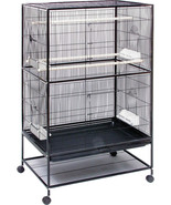 Prevue Pet Small Bird Wrought Iron Flight Cage 31x20x52 In - $245.50