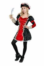 Female Adult Pirate Halloween Costume Cosplay Outfit image 10