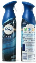 2  Febreze Air Ocean Scent Hinoki Ginger Waterlily Deodorizer Water Base... - $23.99
