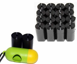 DOG PET WASTE POOP BAGS REFILL ROLLS WITH CORE by Petoutside USA - $7.69+