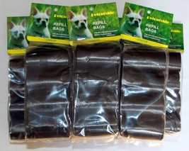 3000 DOG PET WASTE POOP BAGS REFILL 200 ROLLS WITH CORE - $56.09